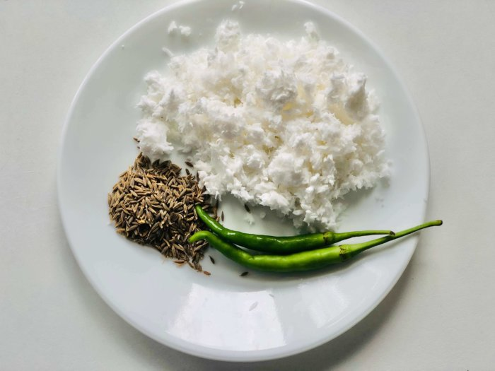 ingredients for pachadi