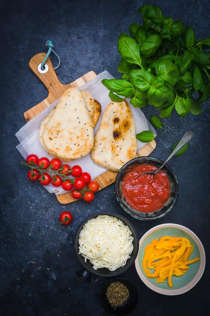 flatbread naan pizza ingredients