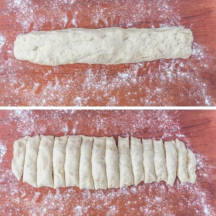 garlic knots step by step