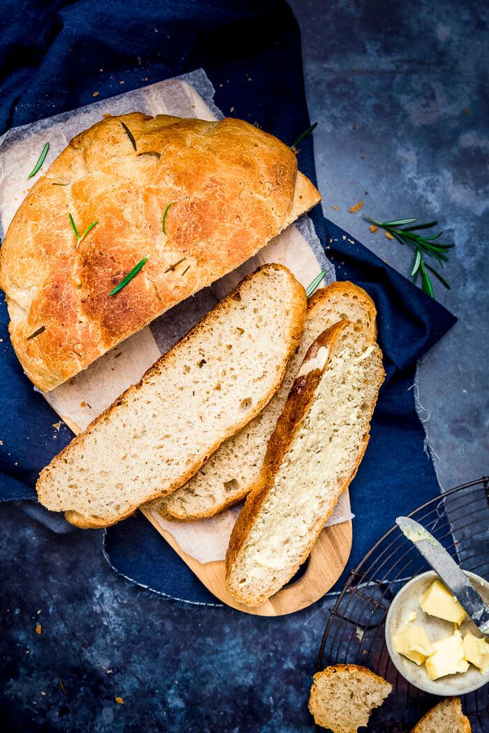 Instant Pot No Knead Bread recipe image