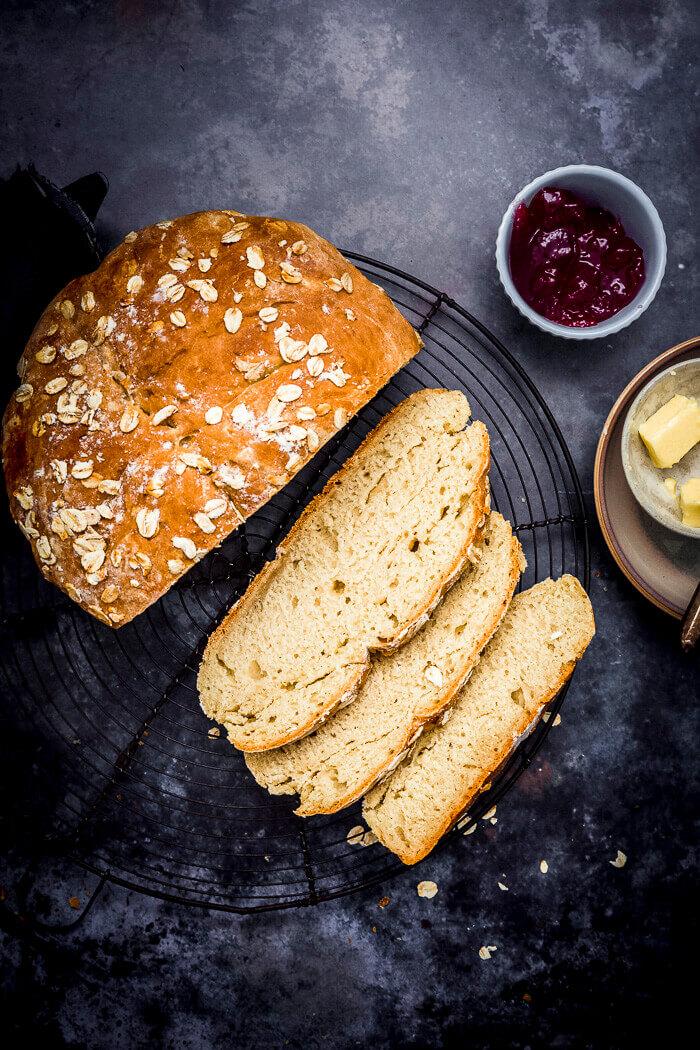 No Yeast White soda bread image