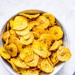 Air fryer Plantain Chips (Kerala Banana Chips)