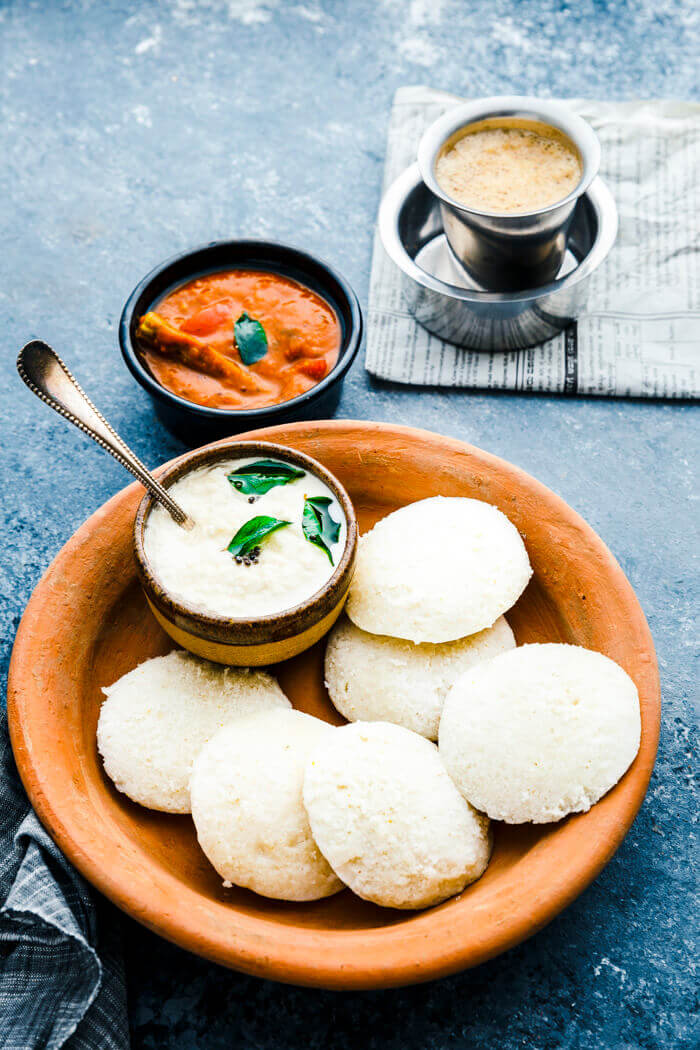 SouthIndian Idli recipe ( Steamed Rice Cakes )