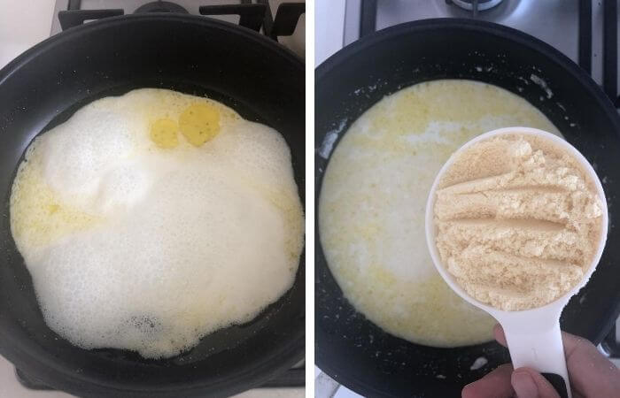 milk powder barfi fudge step by step