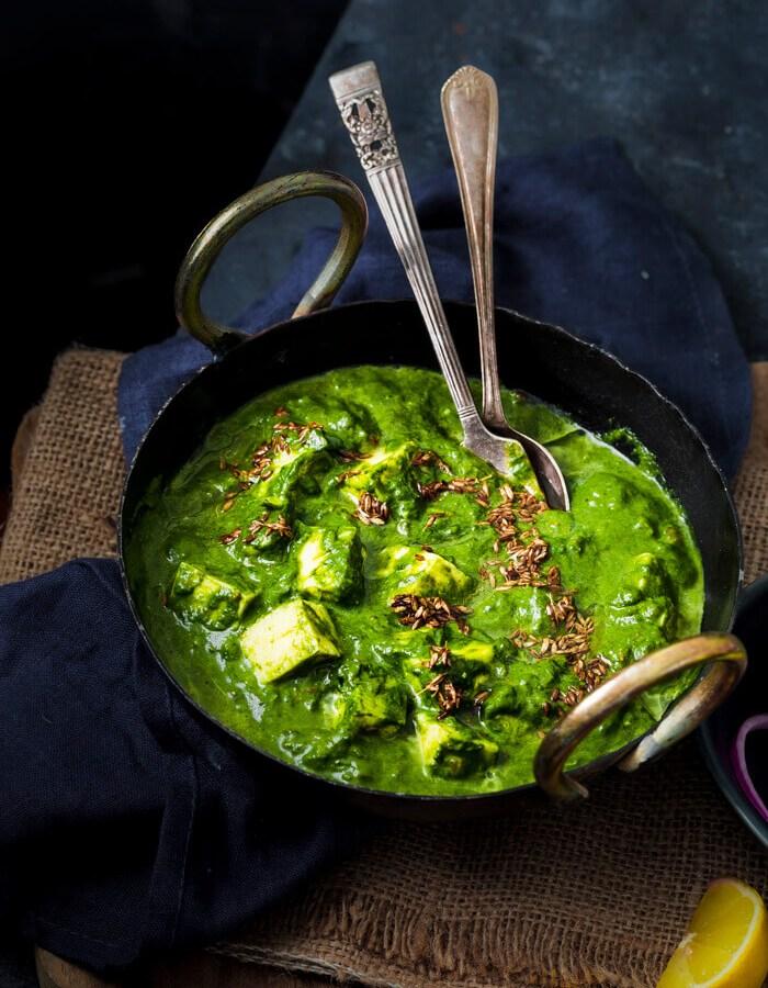 Instant Pot Palak Paneer recipe image