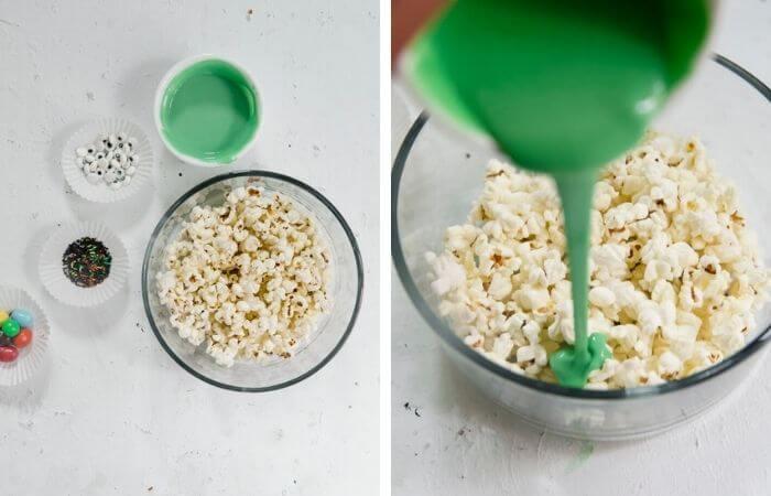 monster popcorn step by step