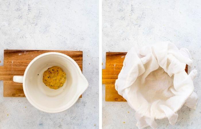 mathri dough in a bowl