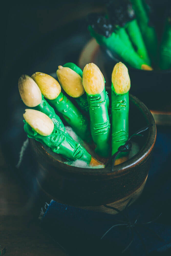 halloween witch fingers recipe image