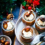 easy chocolate mousse dessert in jars