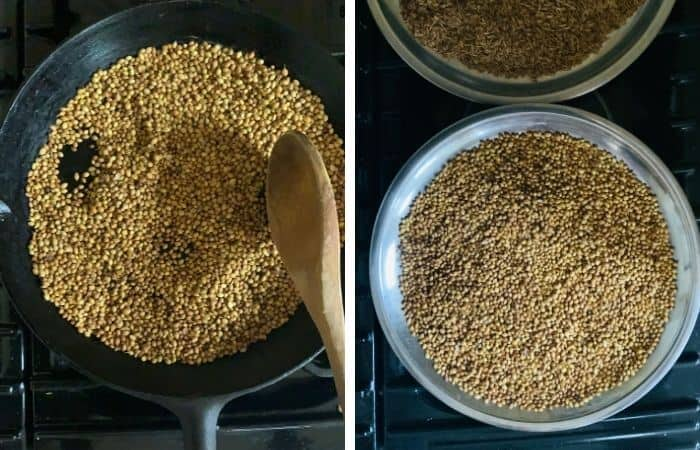 transfer seeds to a plate