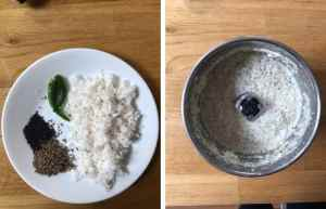 make a coconut paste