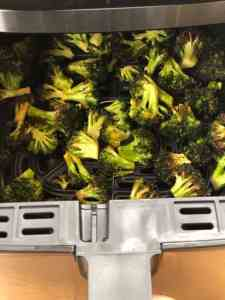 Air fried Florets