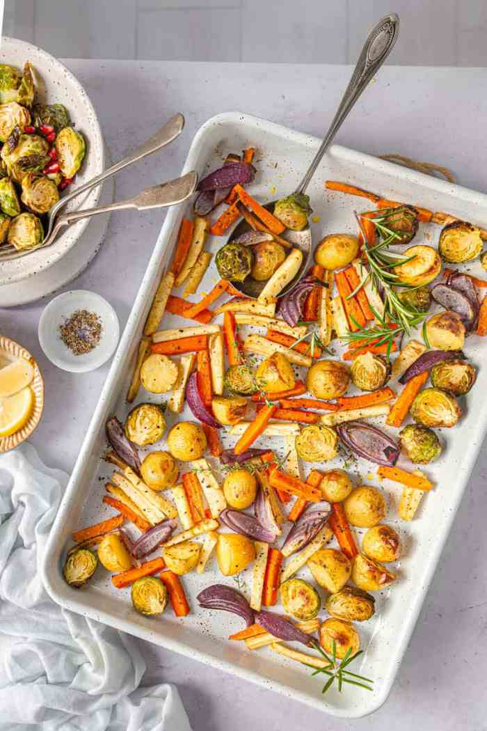 Easy peasy Vegetable tray bake recipe