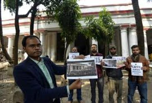 Opposition to demolish the collectorate building built by the Dutch - Bihar  Patna City Common Man Issues News
