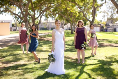 Downtown San Diego Central Library Wedding Images 1470