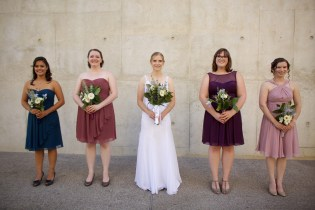 Downtown San Diego Central Library Wedding Images 1479
