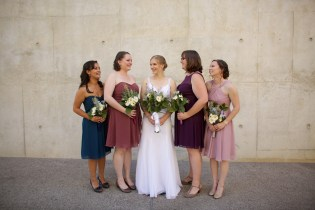 Downtown San Diego Central Library Wedding Images 1480