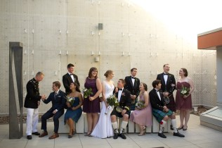 Downtown San Diego Central Library Wedding Images 1502