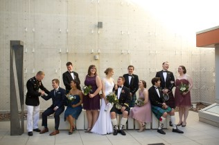 Downtown San Diego Central Library Wedding Images 1503