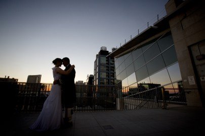 Downtown San Diego Central Library Wedding Images 1532