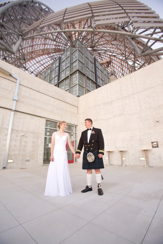 Downtown San Diego Central Library Wedding Images 1533
