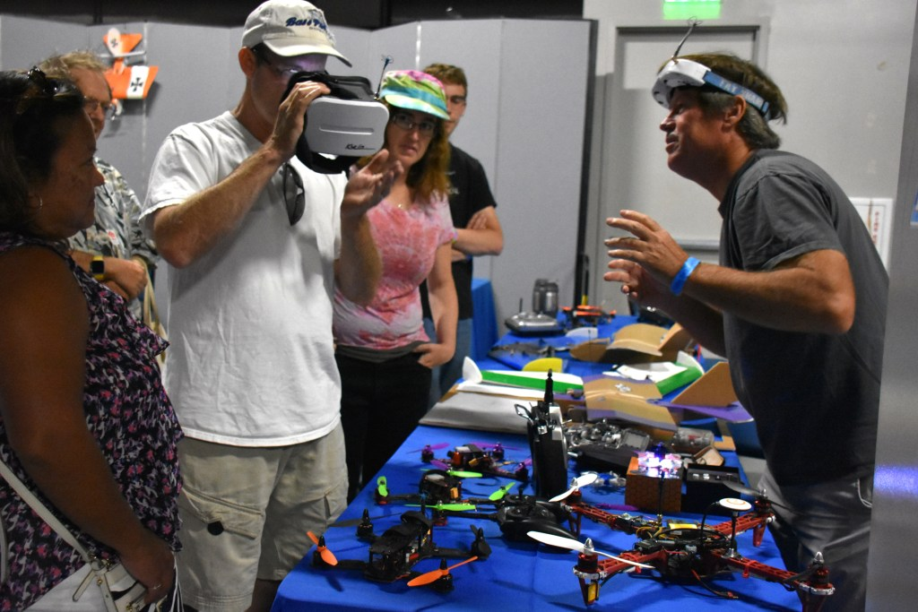 Drone Users Group - Exhibit at Maker Faire San Diego