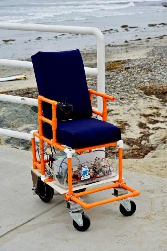 PVC Chair: An Open-Source, Low-Cost Pediatric Powerchair