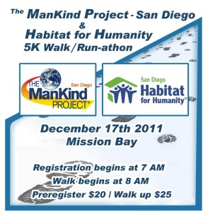 ManKind Project and the Habitat for Humanity's 5k walk/run-a-thon