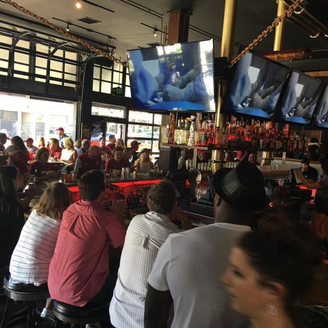 Packed house for the Bama game today bootleggersd rolltide bama
