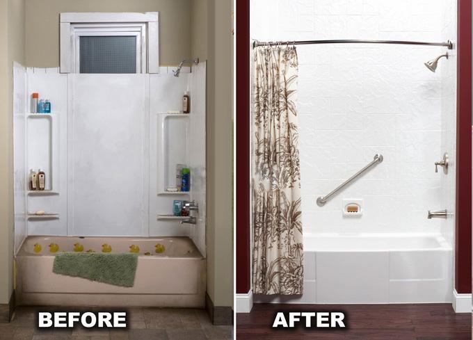 Shower and Tub Walls  San Diego Bath Wraps