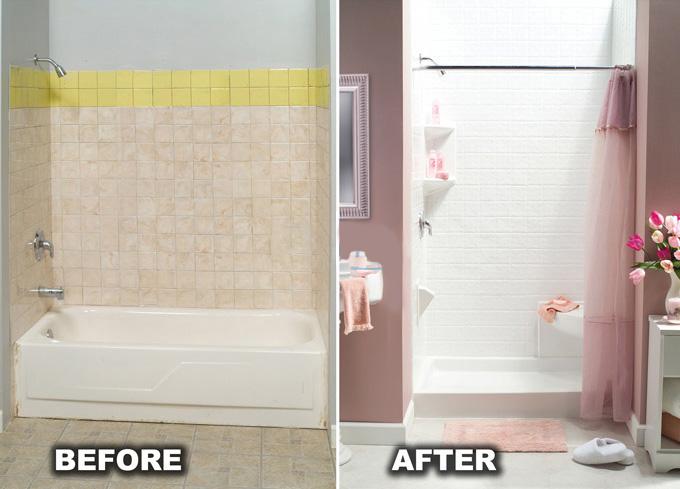 Tub To Shower Conversions San Diego Bath Wraps