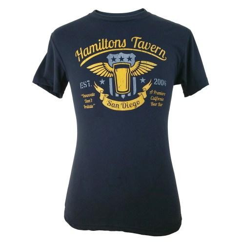Hamilton's Tavern Men's Wings Shirt