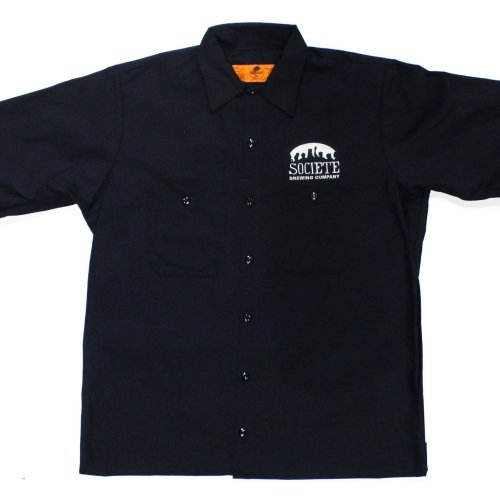 Societe Brewing Company Men's Work Shirt