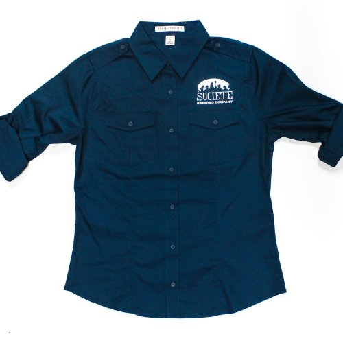 Societe Brewing Company Women's Work Shirt