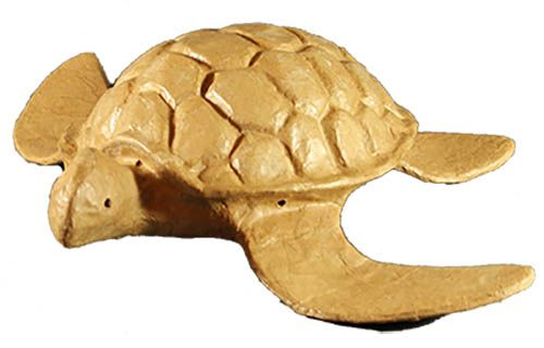 Biodegradable Turtle urn for burial at sea