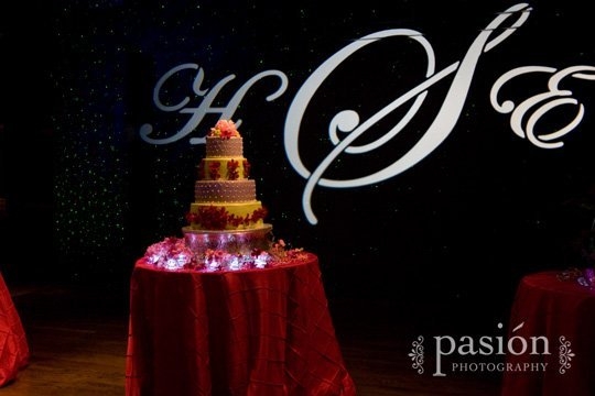 Custom Wedding Gobo