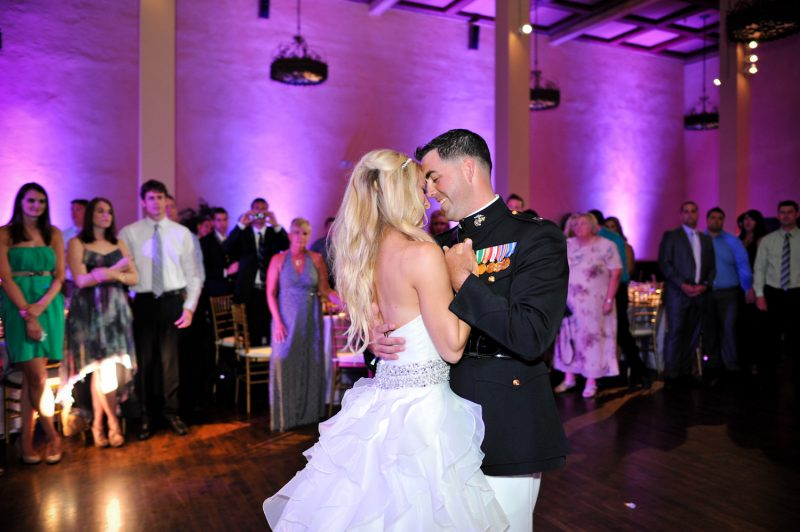 San Diego Wedding Lighting, The Prado Balboa Park First Dance