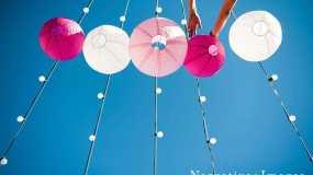 San Diego Lighting Rentals Market Lights Paper Lanterns