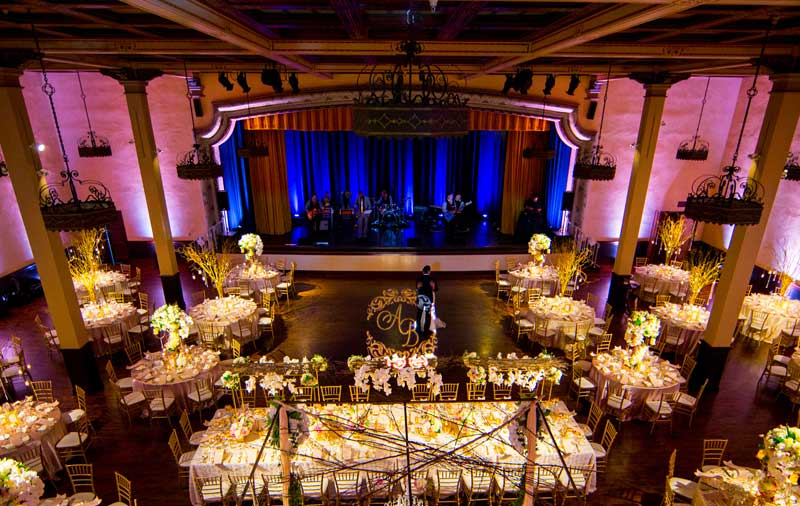 Wedding Lighting, Gobo, The Prado at Balboa Park