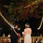 Martin Johnson House Wedding Lighting Market Lights Decks