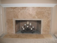 San Diego Tile Fireplace Photos - Custom Masonry and ...