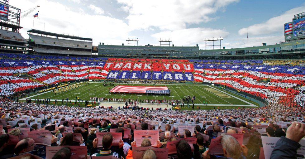NFL military