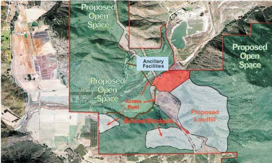 gregory canyon-landfill-map