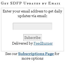 Add your email address and click Subscribe to get an email every day we publish