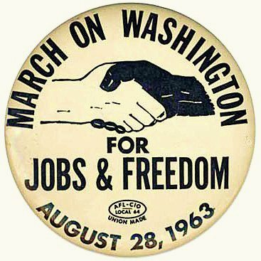 March_on_Washington_Button