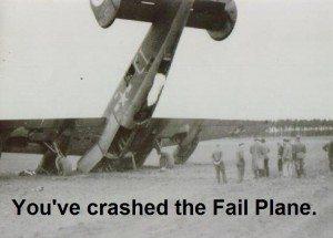 fail plane