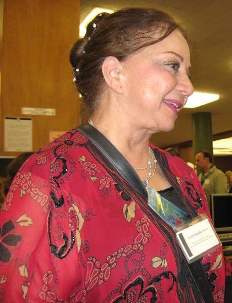 local authors Zohreh Ghahremani