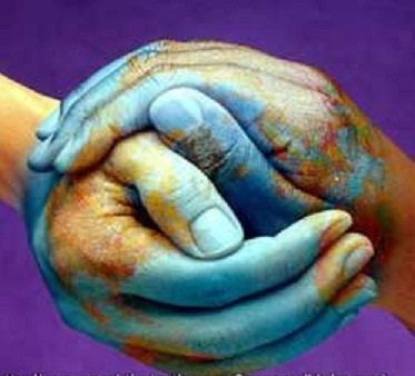 mother earth hands