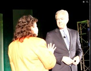 Homeowner betty badro confronts WF CEO john stumpf