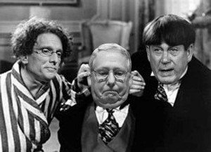 THree Stooges Photoshop